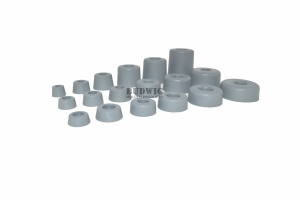 Round Grey Rubber Bumpers