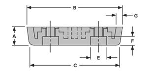 rectangular-feet-RF10-1-drawing-2-sideview