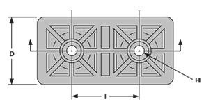 rectangular-feet-RF10-1-drawing-bottomview