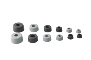 Plastic Feet - Round Rubber Bumpers