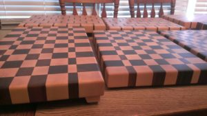 Knife Blocks & Cutting Boards with Rubber Feet